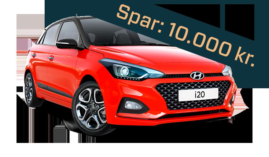 Hyundai i20 nytårskur tilbud