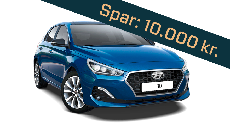 Hyundai i30 nytårskur tilbud