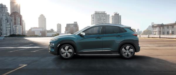 Hyundai KONA electric fra siden