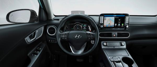 Hyundai KONA electric kabine