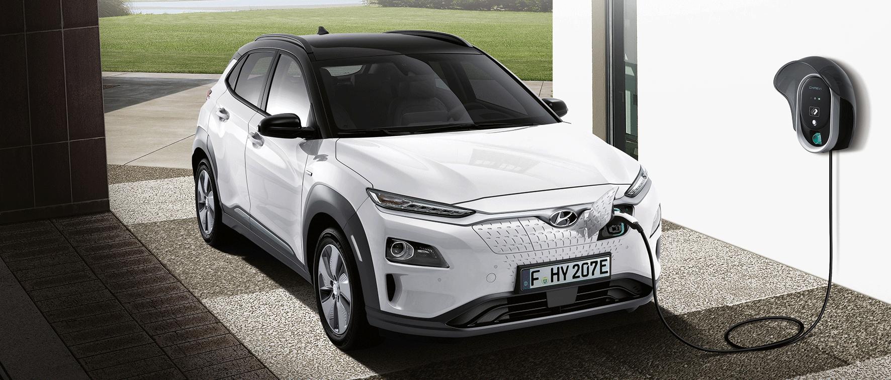 Hyundai KONA electric opladning