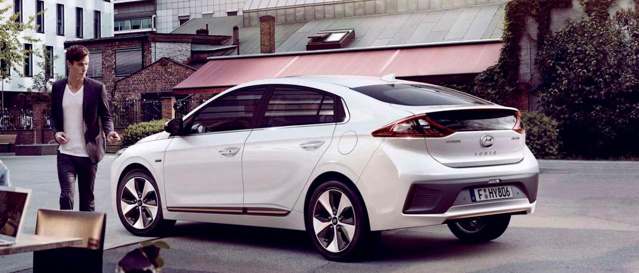 Hyundai IONIQ electric smartkey