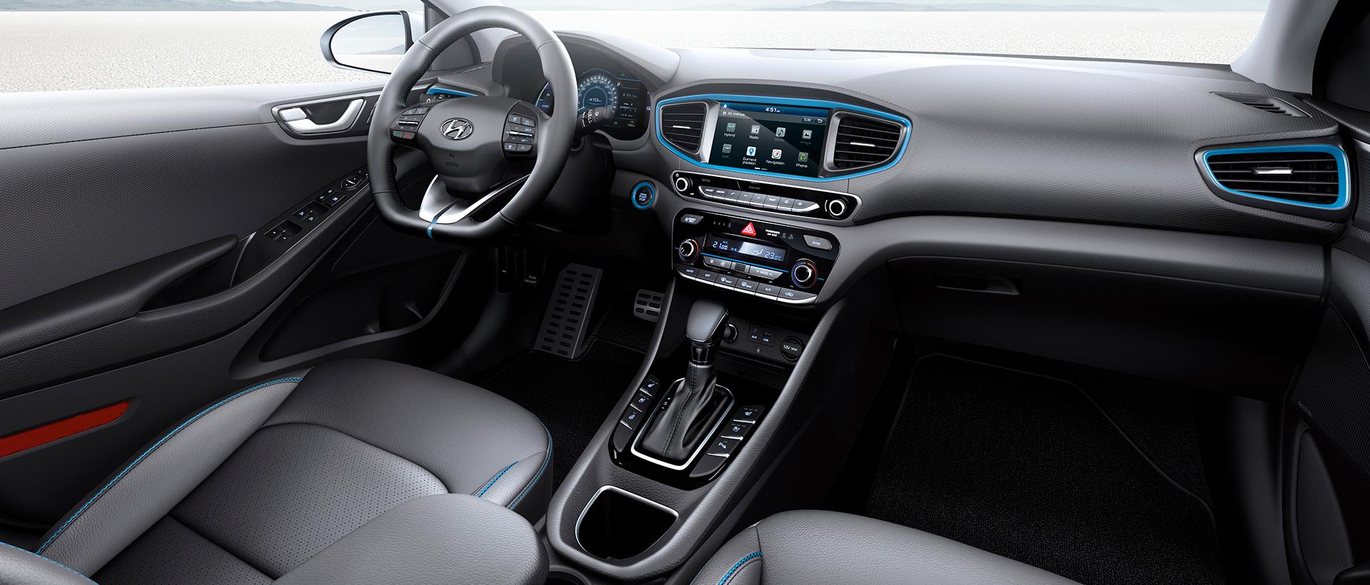 Hyundai IONIQ hybrid interiør