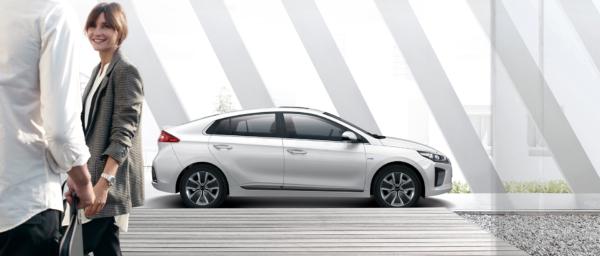 Hyundai IONIQ hybrid miljøvenlig