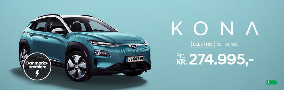Køb Hyundai KONA Electric fra 274.995 kr