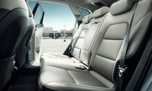 Hyundai Tucson bagsæde