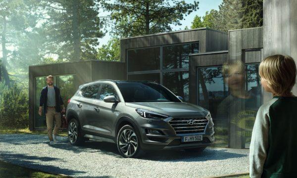Hyundai Tucson der hjemme