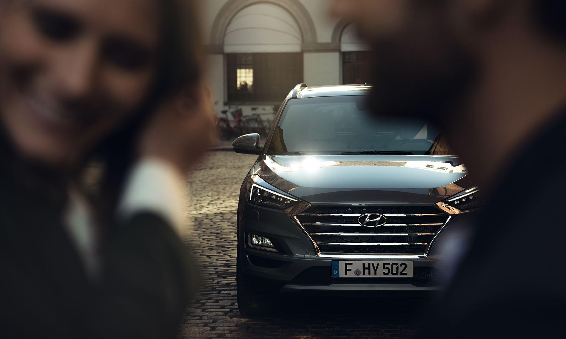 Hyundai Tucson forfra