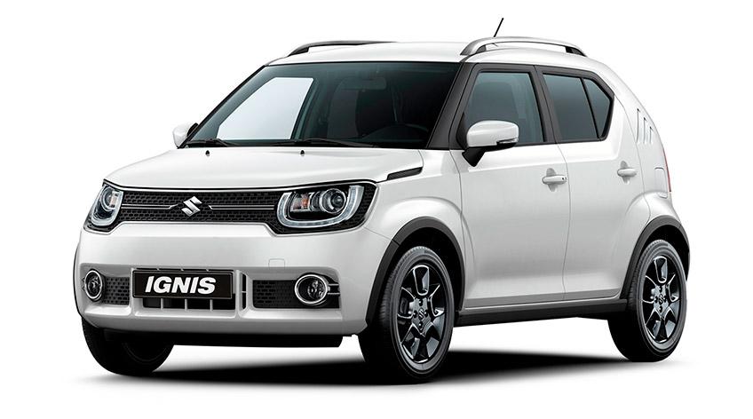 Suzuki Ignis værksted