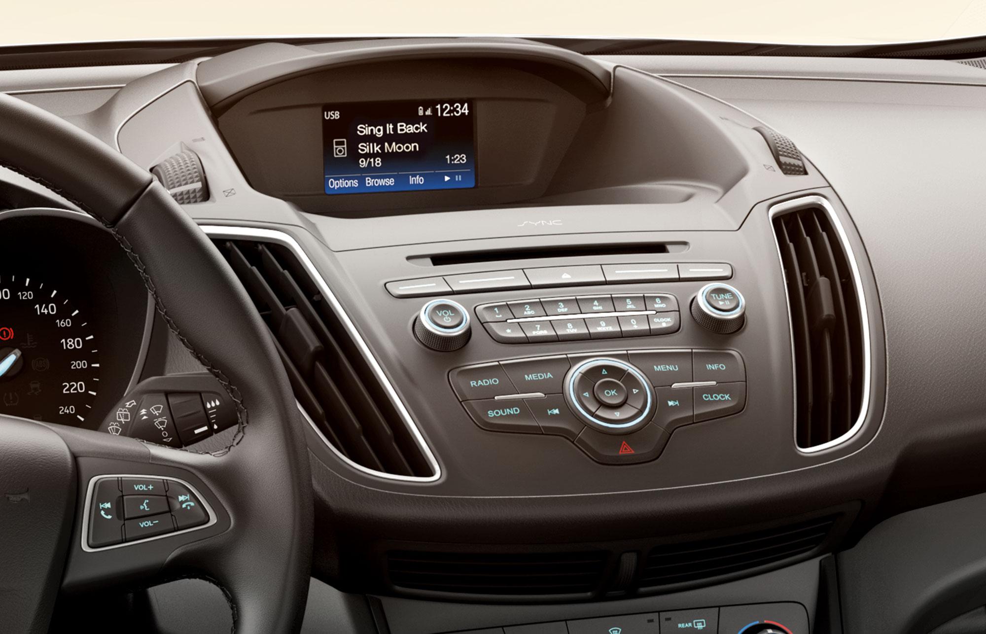 Ford C-MAX interiør 1