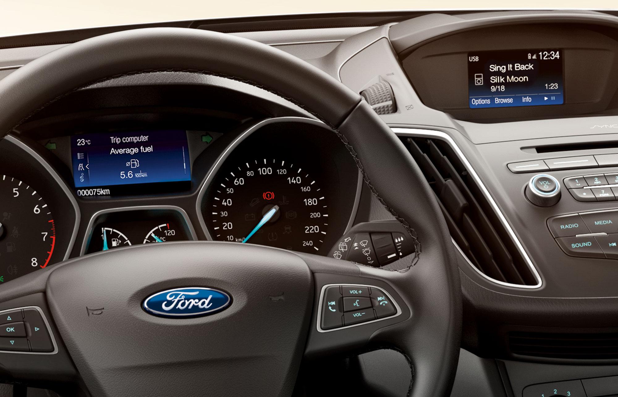Ford C-MAX interiør 2