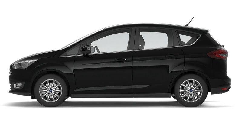 Ford C-MAX Compact i farven Shadow Black