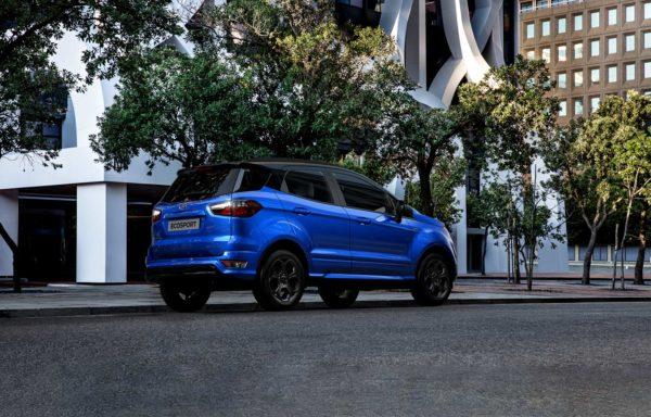 Ford EcoSport fra siden