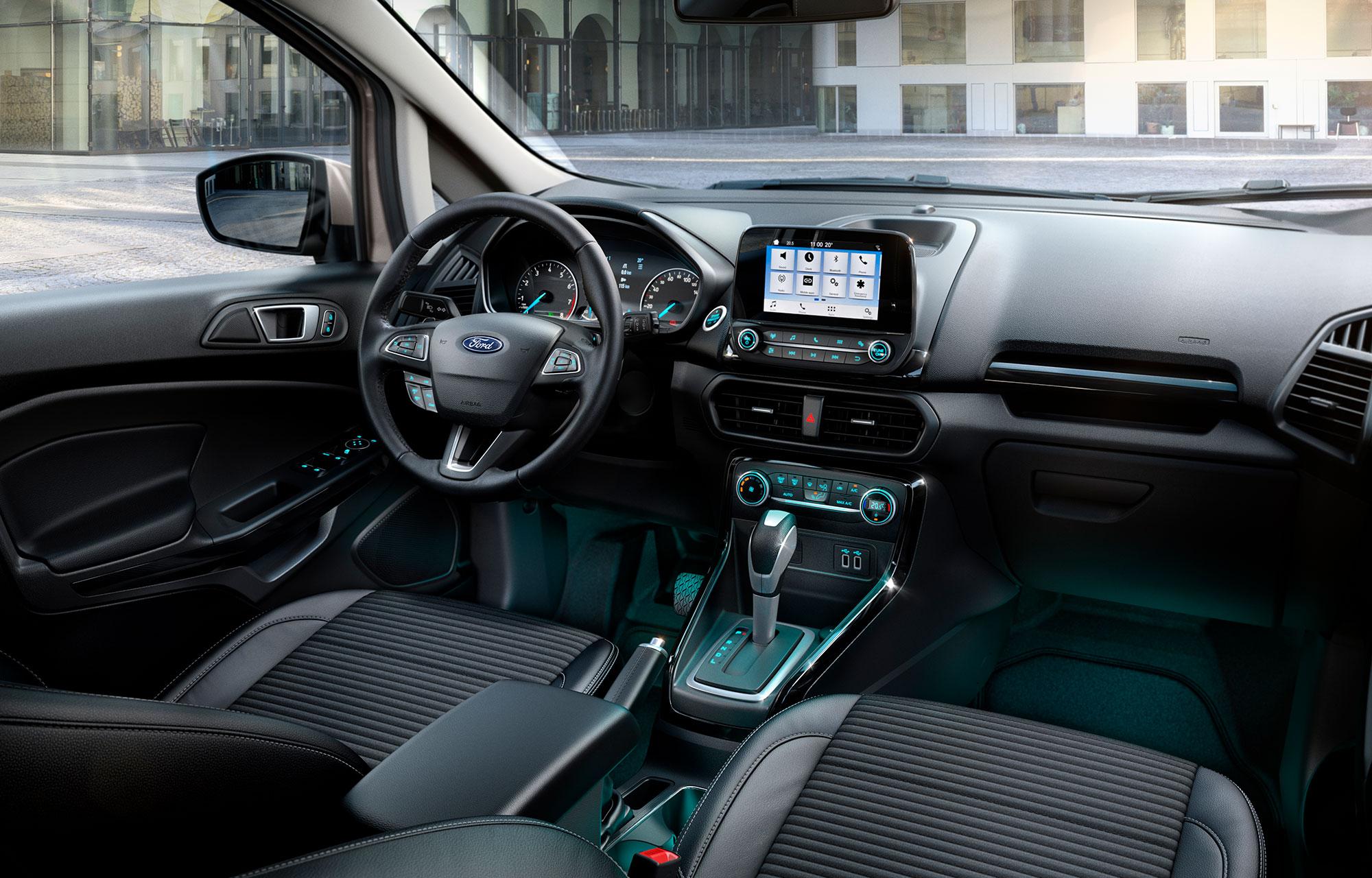 Ford EcoSport interiør 1