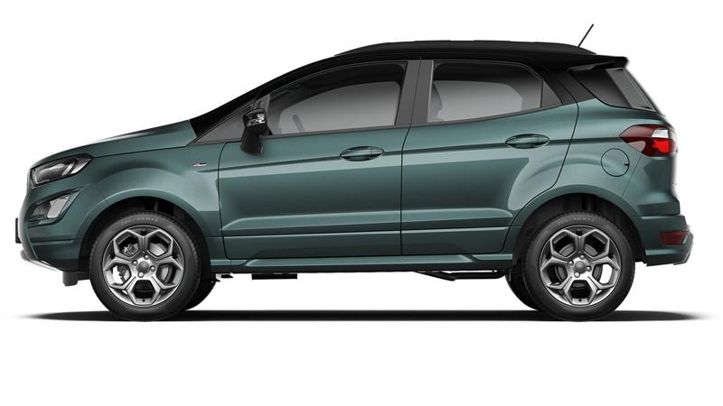 Ford EcoSport 5-dørs i farven Urban Teal