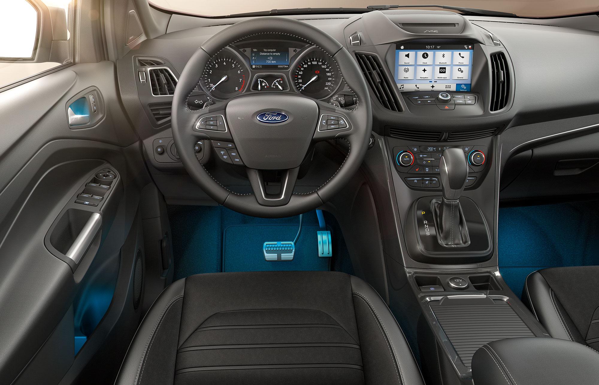 Ford Kuga interiør rat