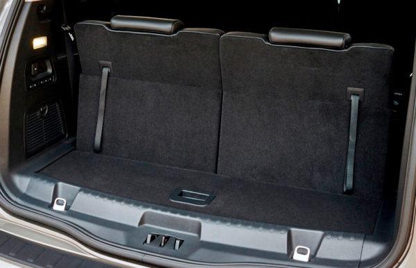 Ford S-MAX interiør bagagerum