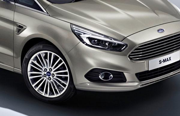Ford S-MAX hjul og lygte