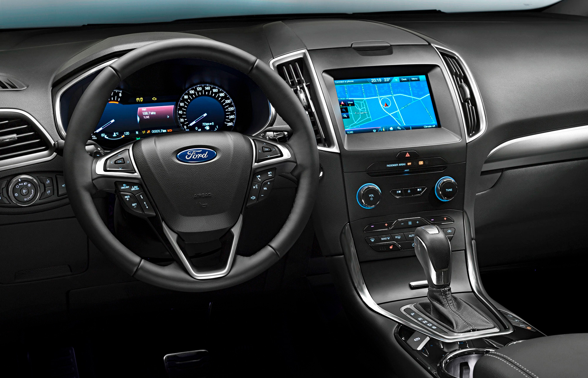 Ford S-MAX interiør rat