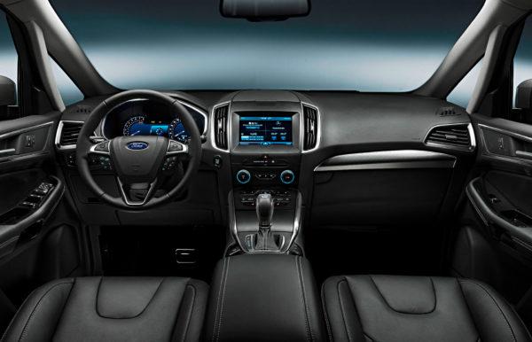 Ford S-MAX interiør forsæder