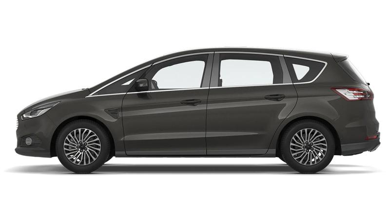Ford S-MAX 5-dørs i farven Magnetic