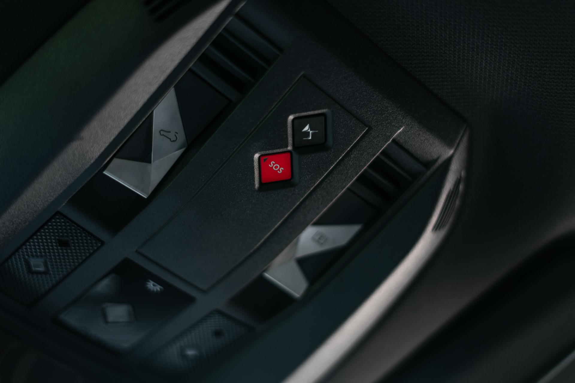 DS 7 Crossback interiør knapper