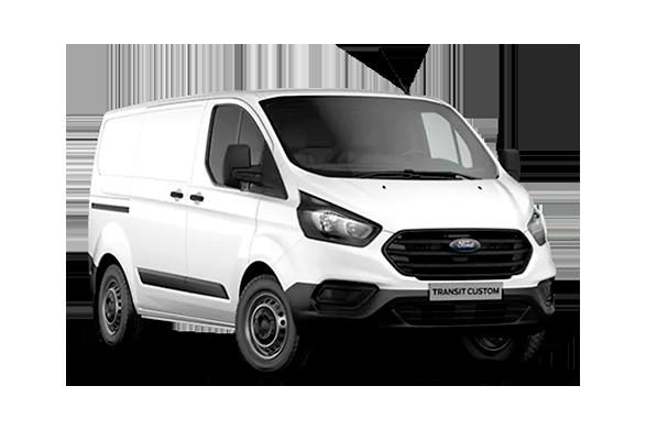 Ford Transit Custom til 1 krone i udbetaling