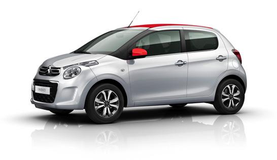 Citroën bil til nytårskur