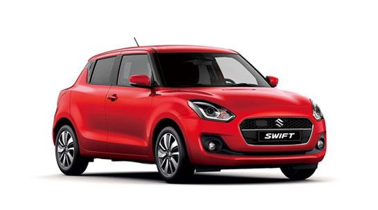 Suzuki bil til nytårskur