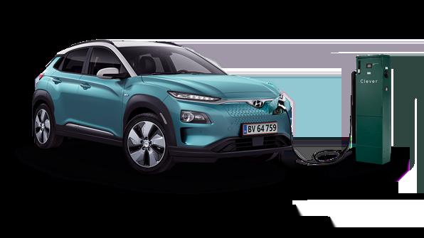 Hyundai KONA electric til opladning