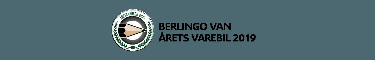 Berlingo Van er årets varebil 2019