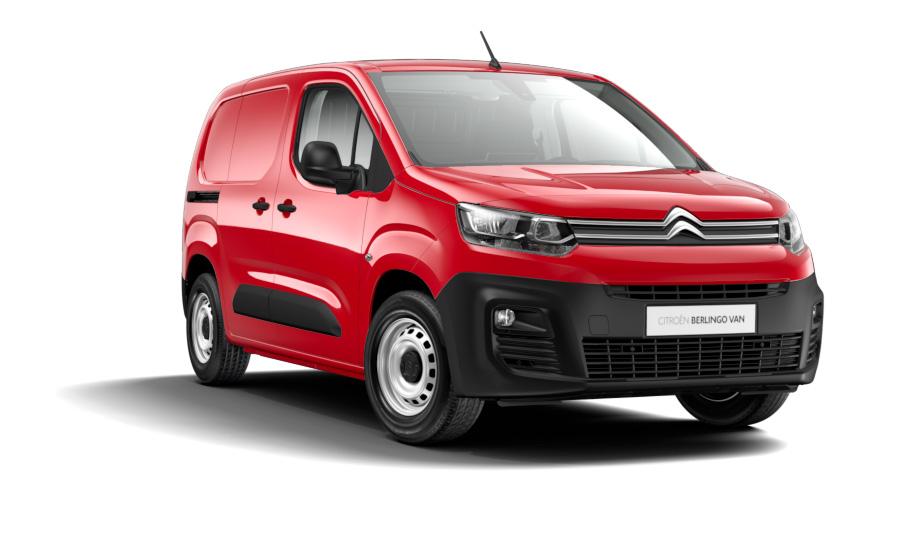 Erhvervsleasing af Citroen Berlingo Van