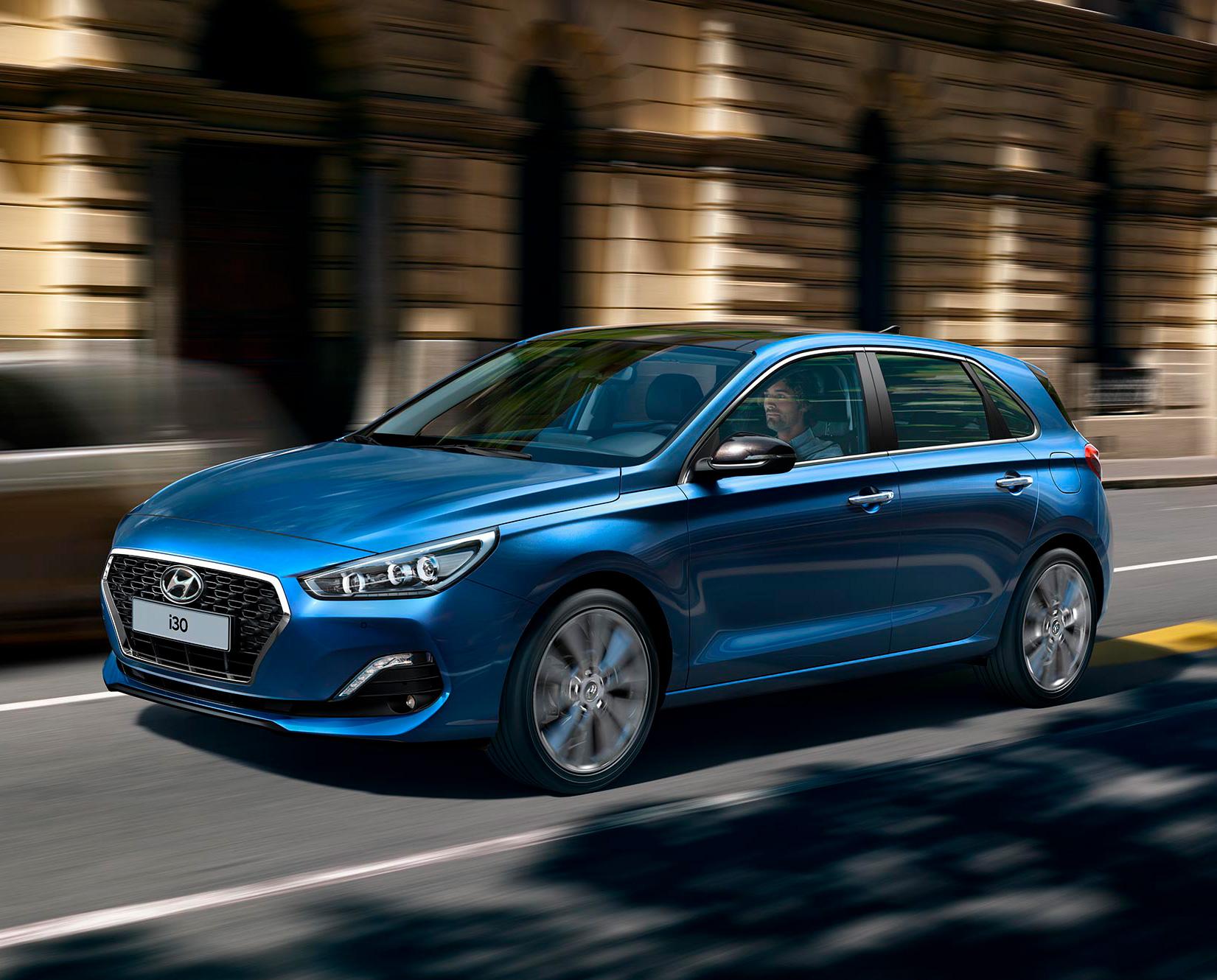 Hyundai i30 Value Edition+ på farten