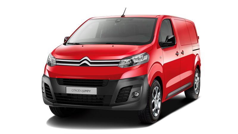 Citroën Jumpy i Rød Ardent