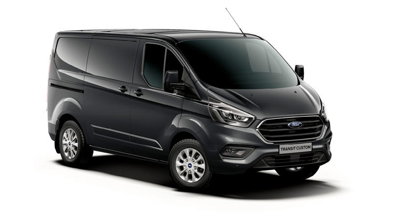 Ford Transit custom i shadow black