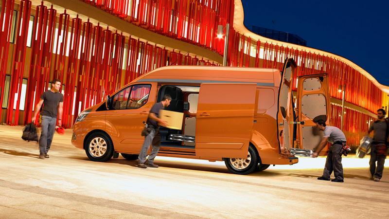 Ford Transit Custom med masser af plads