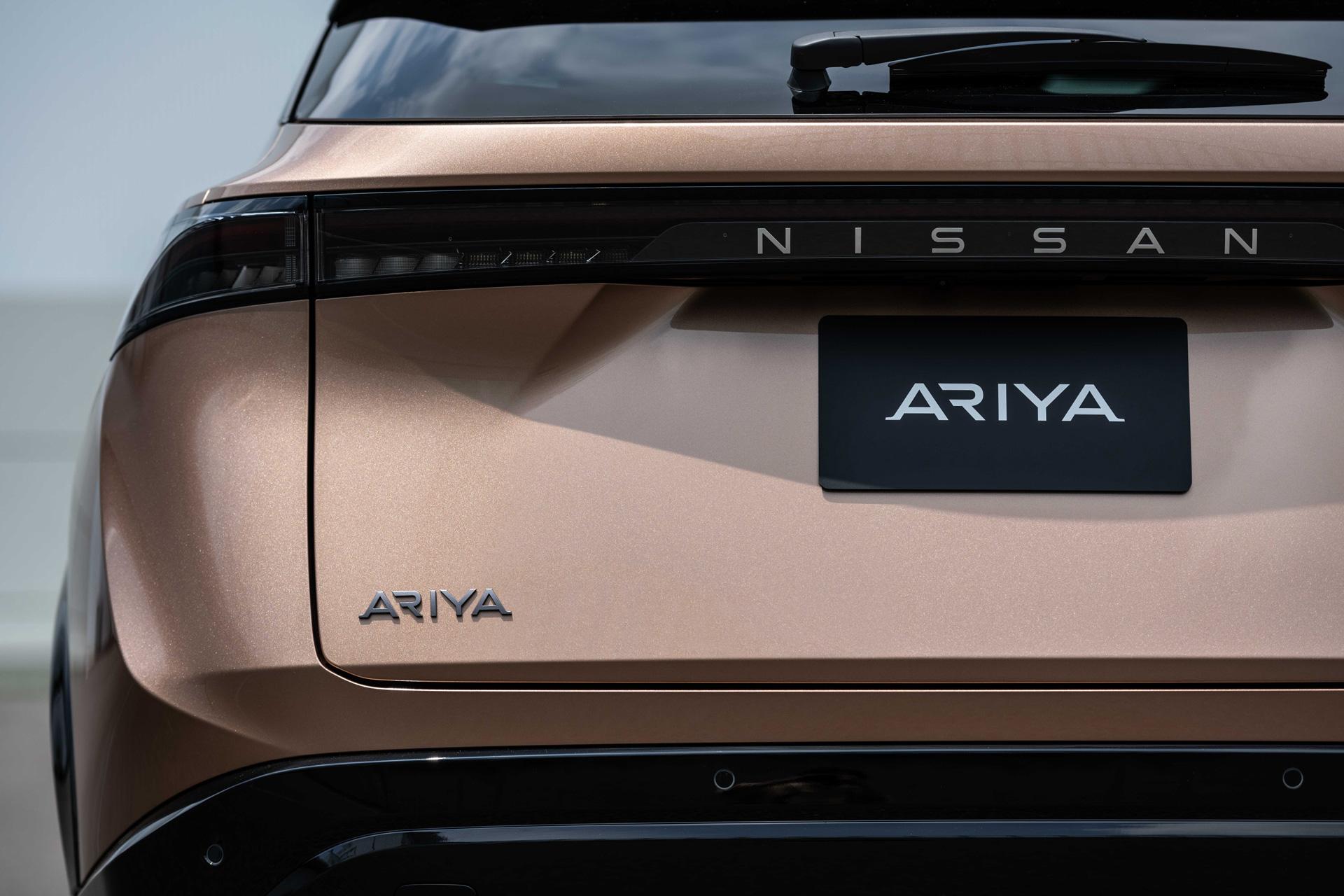 Nissan ARIYA bagenden