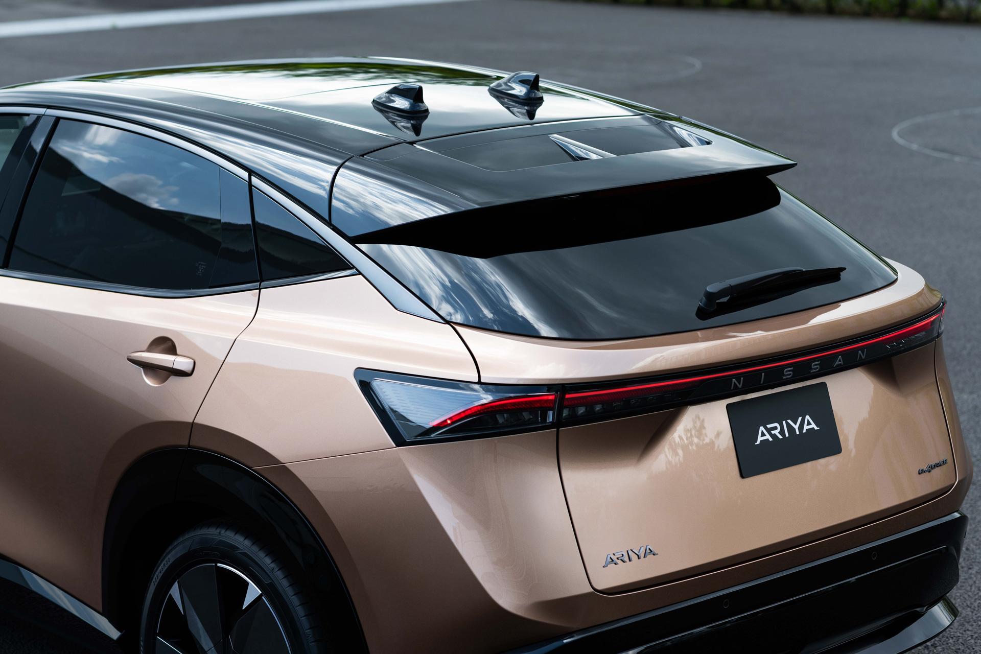 Taget på Nissan ARIYA
