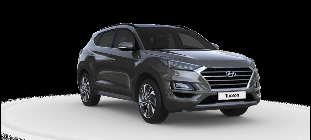 Hyundai Tucson Trend lagerbil i farven Micron Grey