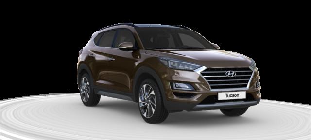 Hyundai Tucson Trend lagerbil med Panoramatag & SmartKey i farven Moon Rock