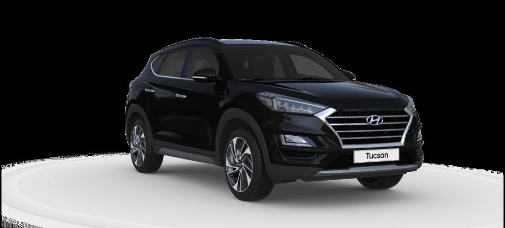 Hyundai Tucson Premium lagerbil med teknik pakke