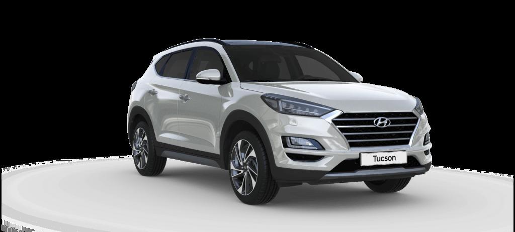 Hyundai Tucson Trend lagerbil i Platinum Silver