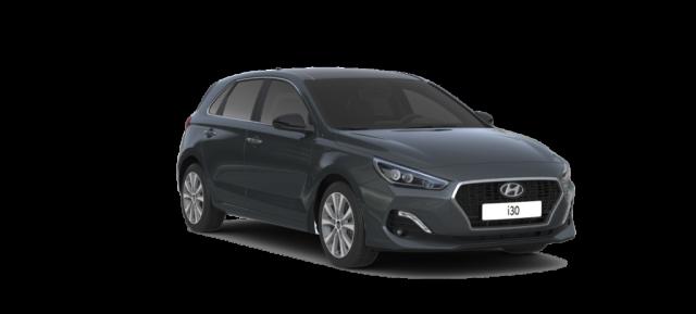 Hyundai i30 Premium lagerbil i Micron Grey