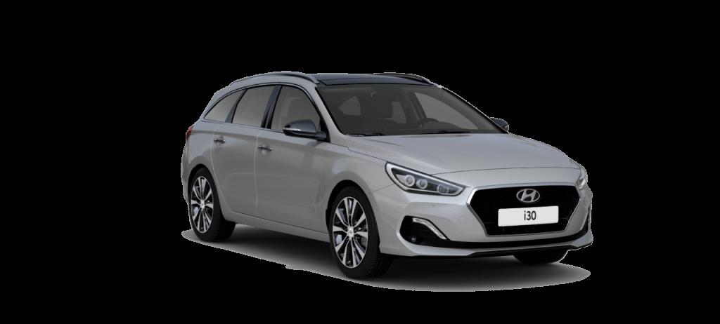 Hyundai i30 stationcar Premium lagerbil i Stellar Blue