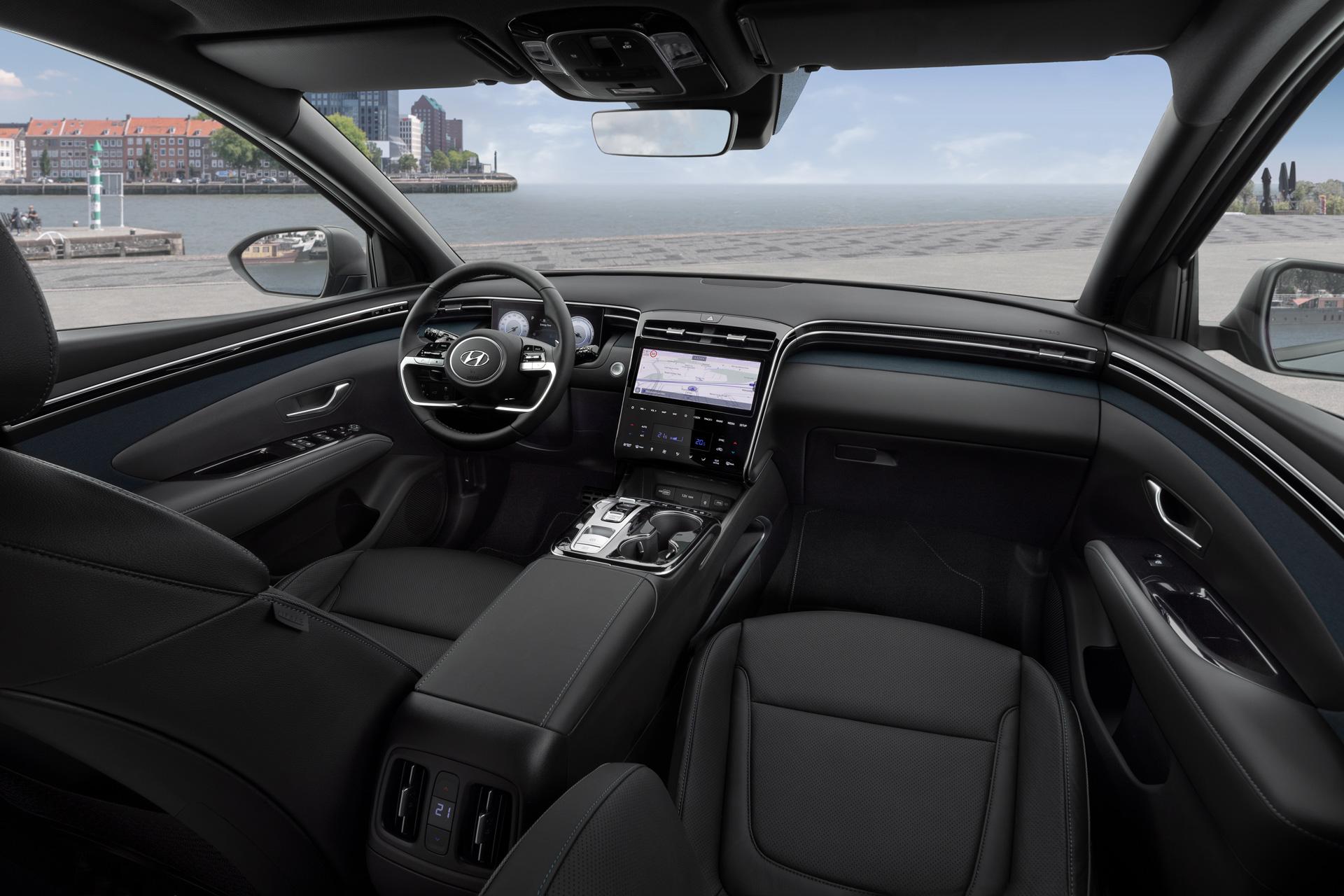 Ny Hyundai Tucson interiør
