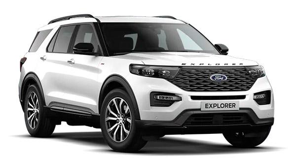 Ford-Explorer plug-in hybrid