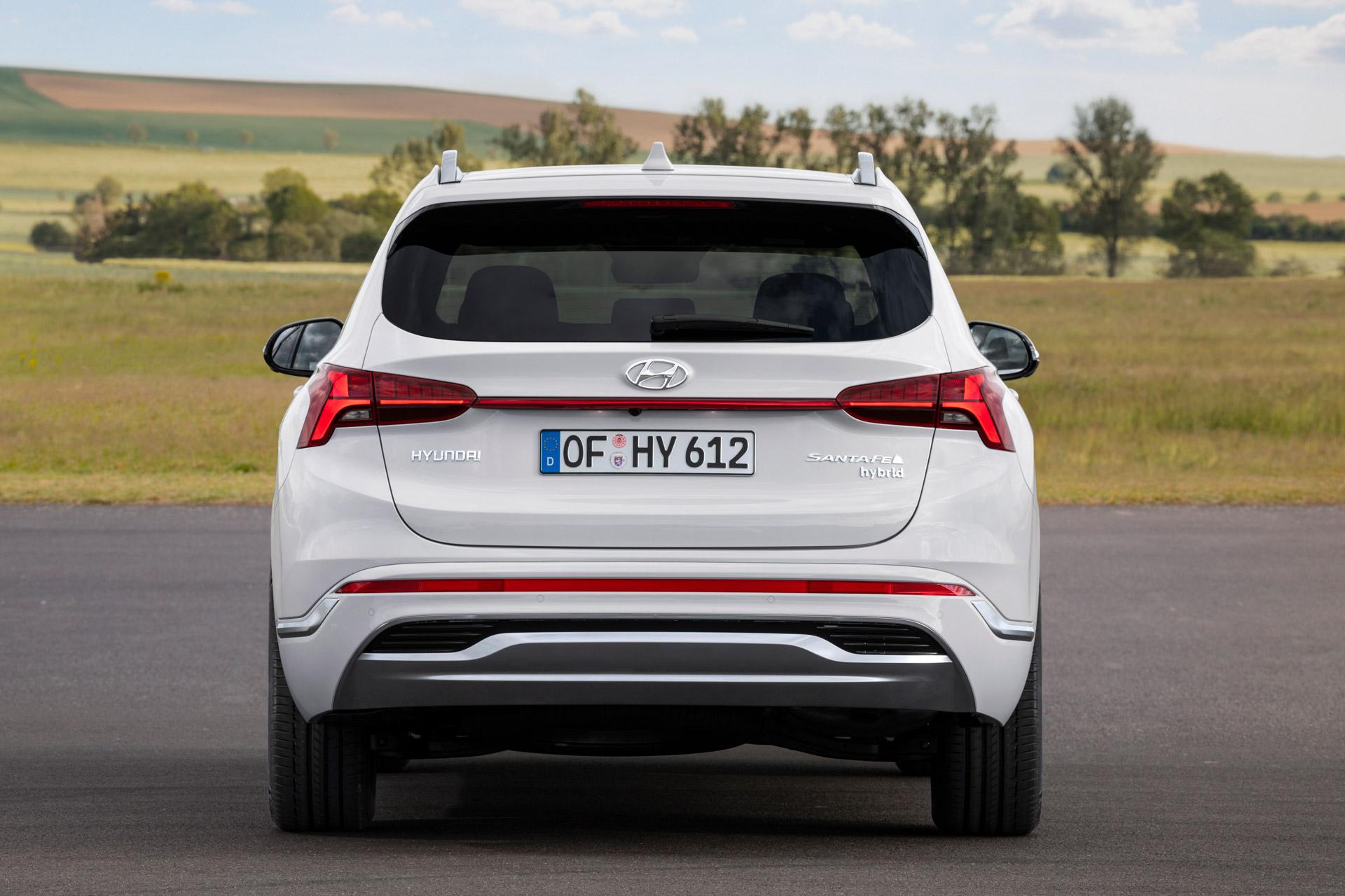 Hyundai Santa Fe bagfra