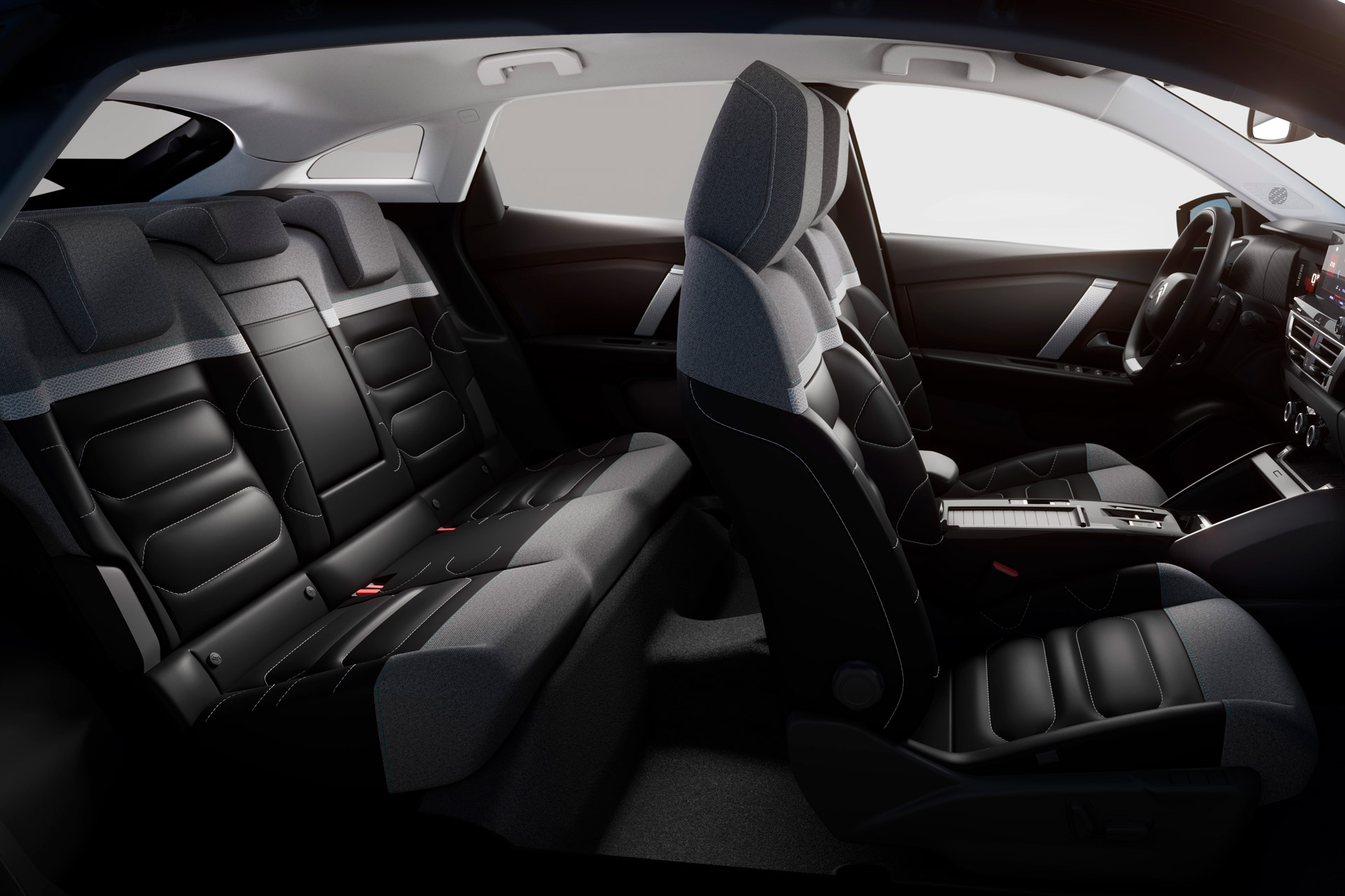 Citroën C4 interiør sæder