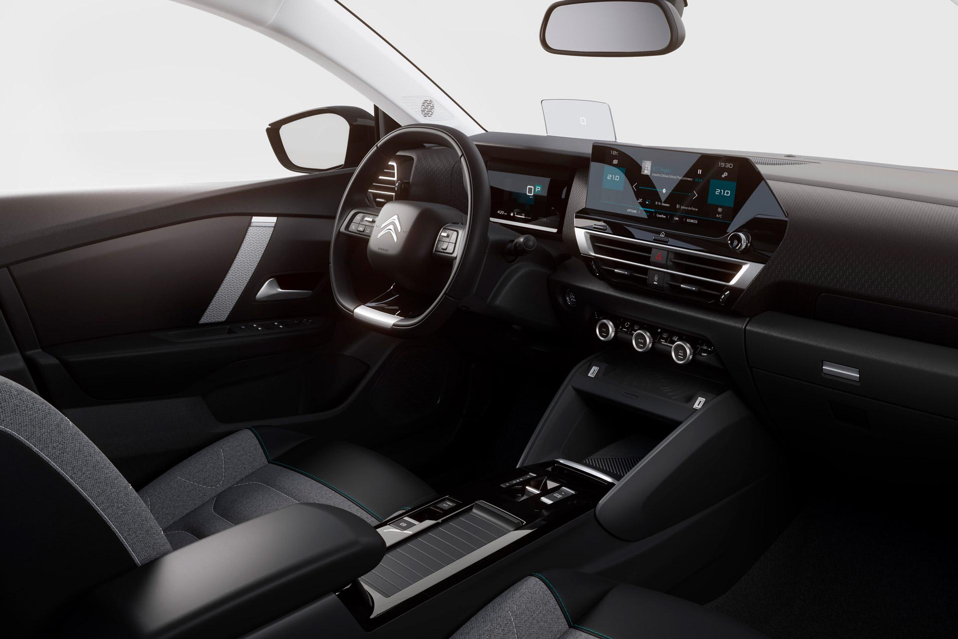 Citroën C4 interiør
