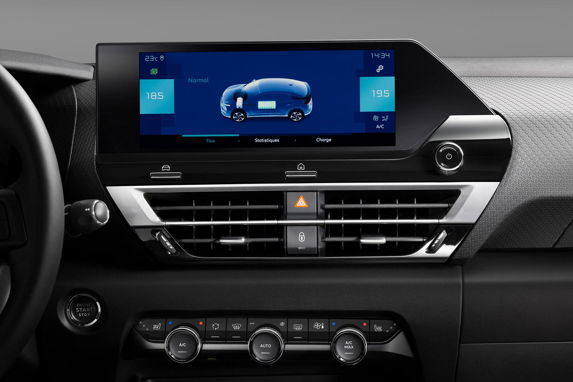 Citroën C4 touchskærm